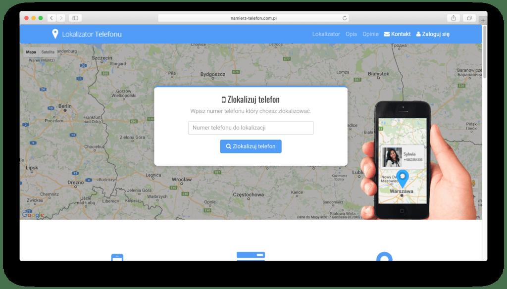 Lokalizacja smartfona właściciela